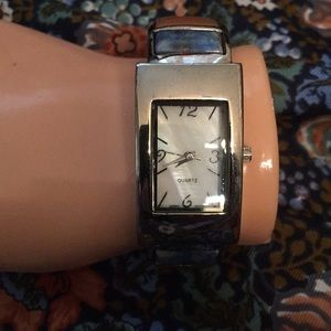 Accessories - Bangle watch with stones